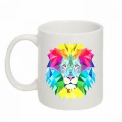 Кружка 320ml Lion vector
