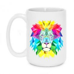 Кружка 420ml Lion vector