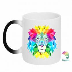 Кружка-хамелеон Lion vector