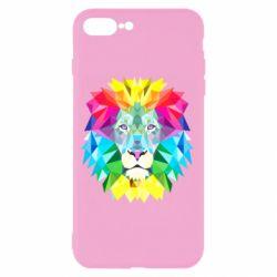 Чехол для iPhone 8 Plus Lion vector