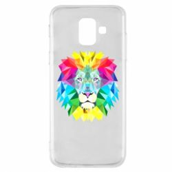 Чохол для Samsung A6 2018 Lion vector