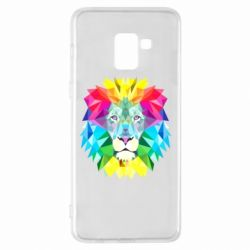 Чохол для Samsung A8+ 2018 Lion vector