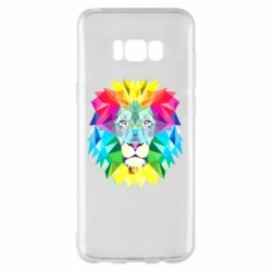 Чохол для Samsung S8+ Lion vector