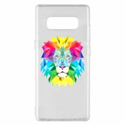 Чохол для Samsung Note 8 Lion vector