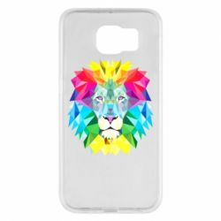 Чохол для Samsung S6 Lion vector