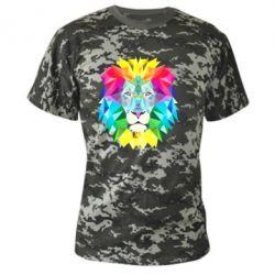 Камуфляжная футболка Lion vector