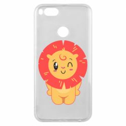 Чехол для Xiaomi Mi A1 Lion with orange mane