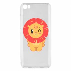 Чехол для Xiaomi Mi5/Mi5 Pro Lion with orange mane