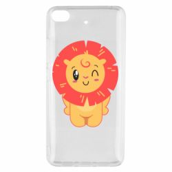 Чехол для Xiaomi Mi 5s Lion with orange mane