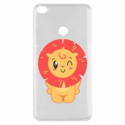 Чехол для Xiaomi Mi Max 2 Lion with orange mane