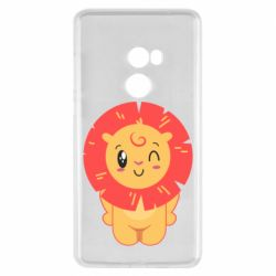Чехол для Xiaomi Mi Mix 2 Lion with orange mane