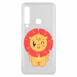 Чехол для Samsung A9 2018 Lion with orange mane