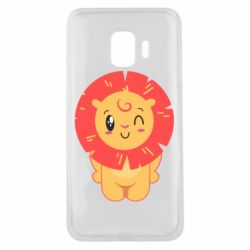 Чехол для Samsung J2 Core Lion with orange mane