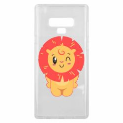 Чехол для Samsung Note 9 Lion with orange mane