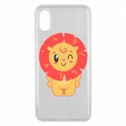 Чехол для Xiaomi Mi8 Pro Lion with orange mane