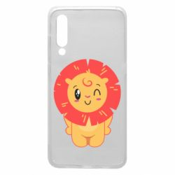 Чехол для Xiaomi Mi9 Lion with orange mane