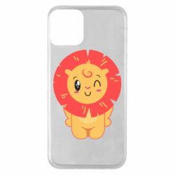 Чехол для iPhone 11 Lion with orange mane