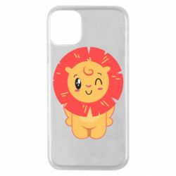 Чехол для iPhone 11 Pro Lion with orange mane
