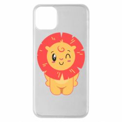 Чехол для iPhone 11 Pro Max Lion with orange mane