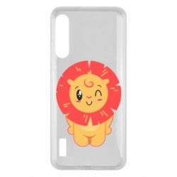 Чохол для Xiaomi Mi A3 Lion with orange mane