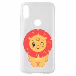 Чехол для Xiaomi Mi Play Lion with orange mane