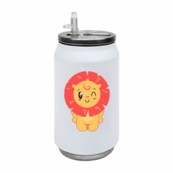 Термобанка 350ml Lion with orange mane