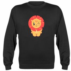 Реглан (свитшот) Lion with orange mane