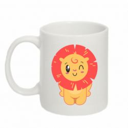 Кружка 320ml Lion with orange mane