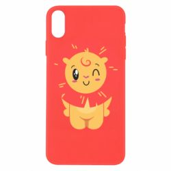 Чехол для iPhone X/Xs Lion with orange mane
