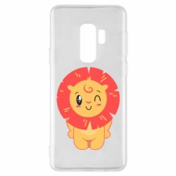 Чехол для Samsung S9+ Lion with orange mane