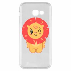 Чехол для Samsung A5 2017 Lion with orange mane