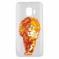 Чохол для Samsung J2 Core Lion yellow and red