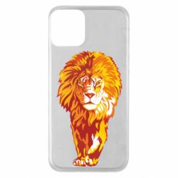 Чохол для iPhone 11 Lion yellow and red