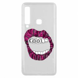 Чохол для Samsung A9 2018 Lips with the words cool
