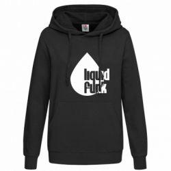 Женская толстовка Liquid funk - FatLine