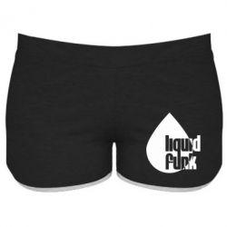 Женские шорты Liquid funk - FatLine