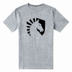 Чоловіча стрейчева футболка liquid logo