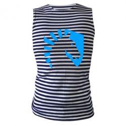 Майка-тільняшка liquid logo