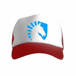 Дитяча кепка-тракер liquid logo
