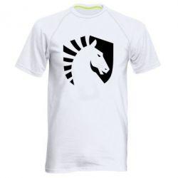 Чоловіча спортивна футболка liquid logo