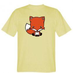 Мужская футболка Лисиця - FatLine