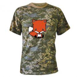Камуфляжная футболка Лиса - FatLine