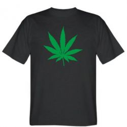 Чоловіча футболка Листочок марихуани
