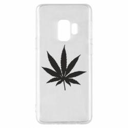Чохол для Samsung S9 Листочок марихуани