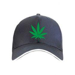 Кепка Листик марихуаны