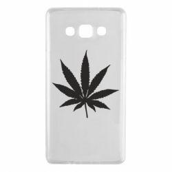 Чохол для Samsung A7 2015 Листочок марихуани