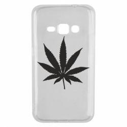Чохол для Samsung J1 2016 Листочок марихуани