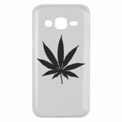Чохол для Samsung J2 2015 Листочок марихуани