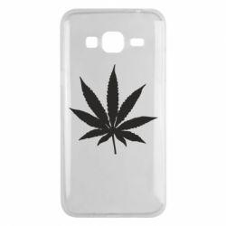 Чохол для Samsung J3 2016 Листочок марихуани