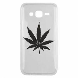 Чохол для Samsung J5 2015 Листочок марихуани